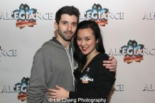Federico Bertè and Elena Wang. Photo by Lia Chang