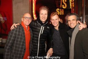 Floyd Sklaver, Lorenzo Thione, Michael Prince and Marc Acito. Photo by Lia Chang