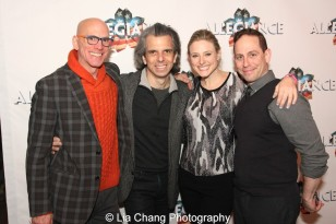 Floyd Sklaver, Marc Acito, Laura Heywood and Garth Kravits. Photo by Lia Chang