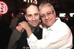 Garth Kravits and Jeff Saver. Photo by Lia Chang