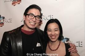 Greg Watanabe and Lia Chang. Photo by Garth Kravits
