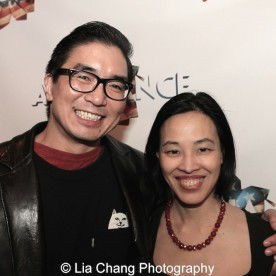 Greg Watanabe and Lia Chang. Photo by Garth Kravits
