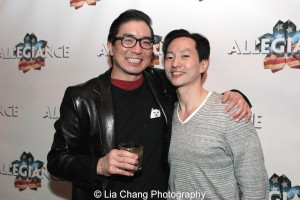 Greg Watanabe and Michael K. Lee_Photo by Lia Chang