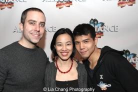James Babcock, Lia Chang and Telly Leung. Photo by Garth Kravits