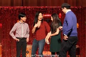 James Ignacio, Lainie Sakakura, Amaya Braganza and Henry Vincent Bonet. Photo by Lia Chang
