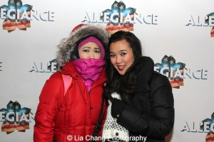 Janelle Dote and Elena Wang. Photo by Lia Chang