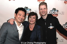Jay Kuo, Wendy Gillespie and Lorenzo Thione. Photo by Lia Chang