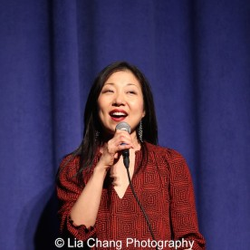 Lainie Sakakura at the P.S. 87 Pan Asian Lunar New Year Celebration at the William T Sherman School in New York on January 29, 2016. Photo by Lia Chang