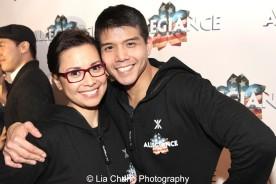 Lea Salonga and Telly Leung. Photo by Lia Chang