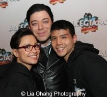 Lea Salonga, Malan Breton and Telly Leung. Photo by Lia Chang