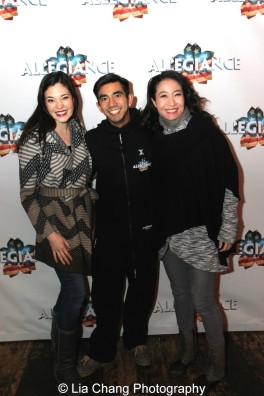 Manna Nichols, Aaron J. Albano and Rumi Oyama. Photo by Lia Chang