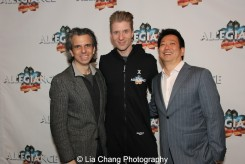 Marc Acito, Lorenzo Thione and Jay Kuo. Photo by Lia Chang