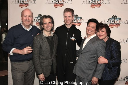 Matthew Woolf, Marc Acito, Lorenzo Thione, Jay Kuo and Wendy Gillespie. Photo by Lia Chang