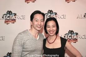 Michael K. Lee and Lia Chang. Photo by Lia Chang