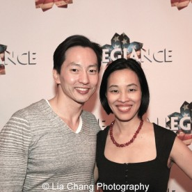 Michael K. Lee and Lia Chang. Photo by Lia Chang