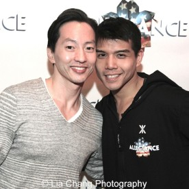 Michael K. Lee and Telly Leung. Photo by Lia Chang
