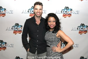 Scott McCreary and Catherine Ricafort. Photo by Lia Chang