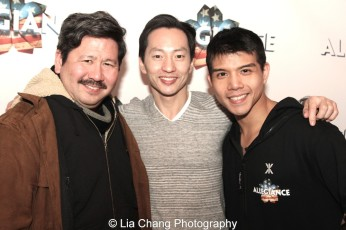 Scott Watanabe, Michael K. Lee and Telly Leung. Photo by Lia Chang