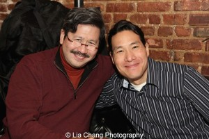 Scott Watanabe and Darren Lee. Photo by Lia Chang