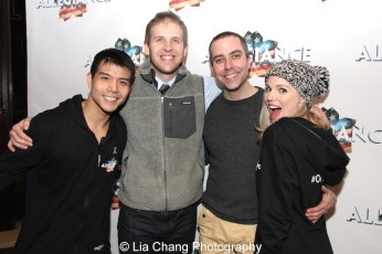 Telly Leung, Chris Rogers, James Babcock and Katie Rose Clarke. Photo by Lia Chang