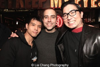 Telly Leung, James Babcock and Greg Watanabe. Photo by Lia Chang