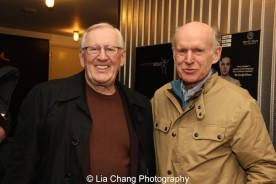 Len Cariou and James Murtaugh. Photo by Lia Chang