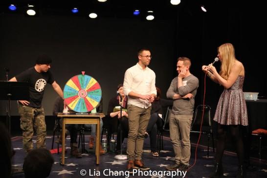 Peter Michael Marino, Benjamin Halstead, Garth Kravits and Emily McNamara. Photo by Lia Chang