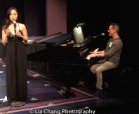 """Emily Borromeo and Garth Kravits perform """"This Man,"""" from M: THE MUSICAL. Photo by Lia Chang"""