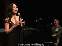 "Emily Borromeo and Garth Kravits perform ""This Man,"" from M: THE MUSICAL. Photo by Lia Chang"