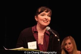 Lyricist Kate Chadwick. Photo by Lia Chang