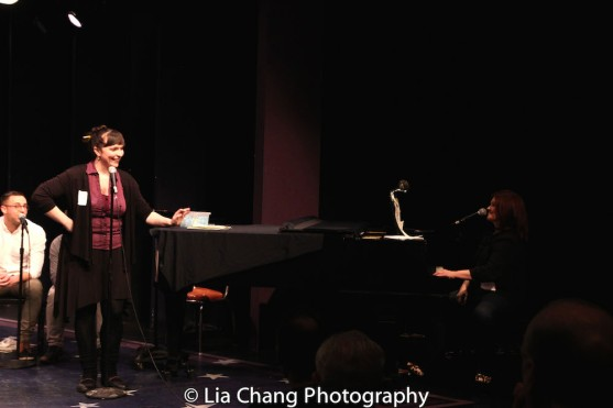 Lyricist Kate Chadwick and composer Lisa DeSpain. Photo by Lia Chang