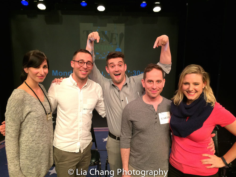 Nikka Graff Lanzarone, Benjamin Halstead, Mo Brady, Garth Kravits and Laura Heywood. Photo by Lia Chang