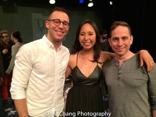 Benjamin Halstead, Emily Borromeo and Garth Kravits. Photo by Lia Chang