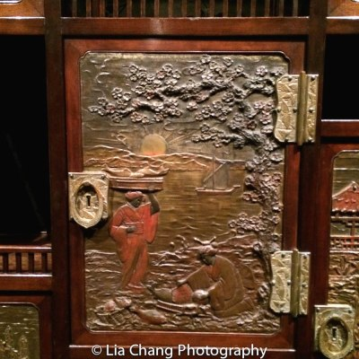 Herter Brothers (1864–1906), Cabinet for the Japanese Room of the William H. Vanderbilt House, New York City,1879–82. The Metropolitan Museum of Art, Gift of Barrie A. and Deedee Wigmore, 2014. Photo by Lia Chang