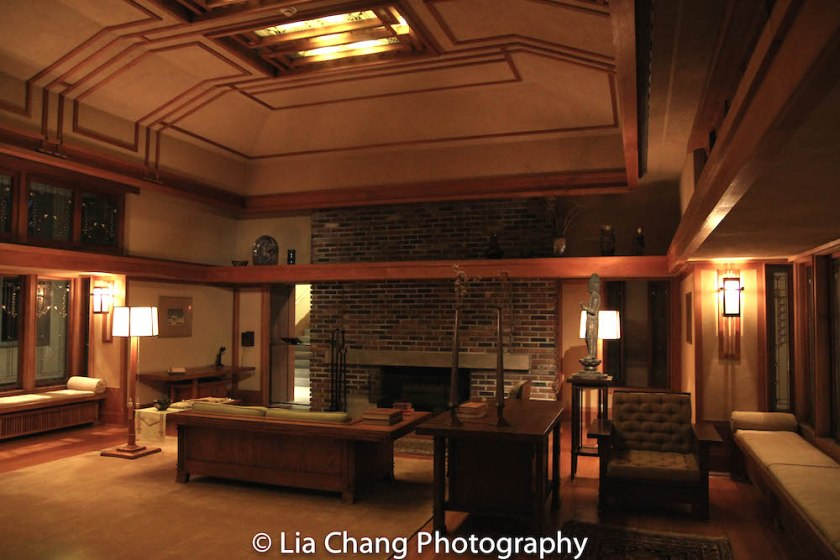 Gallery 745: The Frank Lloyd Wright Living Room from the Little House, Wayzata, Minnesota, 1912–14. Photo by Lia Chang