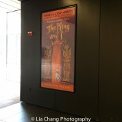The poster for THE KING AND I. Photo by Lia Chang