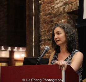 Annie Polland, Senior Vice President, Education & Programs of the Lower East Side Tenement Museum on March 8, 2016. Photo by Lia Chang