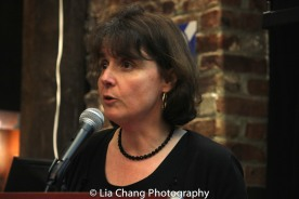 Mary Anne Trasciatti, president of the Remember the Triangle Fire Coalition, at the Lower East Side Tenement Museum in New York on March 8, 2016. Photo by Lia Chang