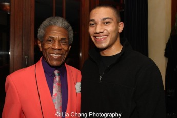"André De Shields and John Manzari appeared in ""The Wiz is 40"" at Summerstage last August. Photo by Lia Chang"