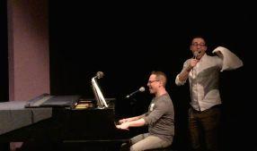 Garth Kravits and Benjamin Halstead. Photo by Lia Chang