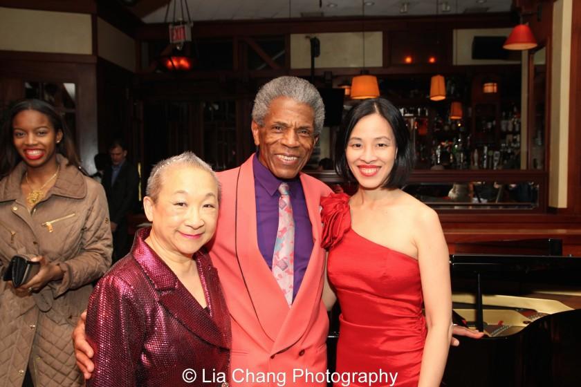 Lori Tan Chinn, André De Shields and Lia Chang. Photo by Garth Kravits