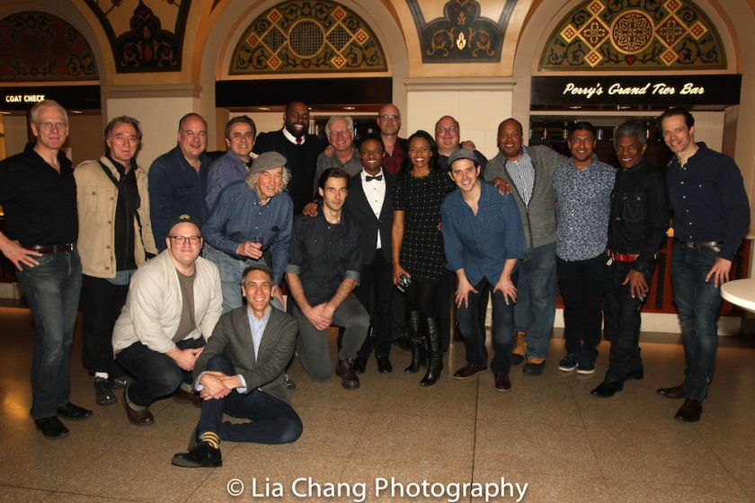 The cast of Encores! 1776 at New York City Center. Photo by Lia Chang