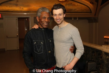 André De Shields and Bryce Pinkham. Photo by Lia Chang