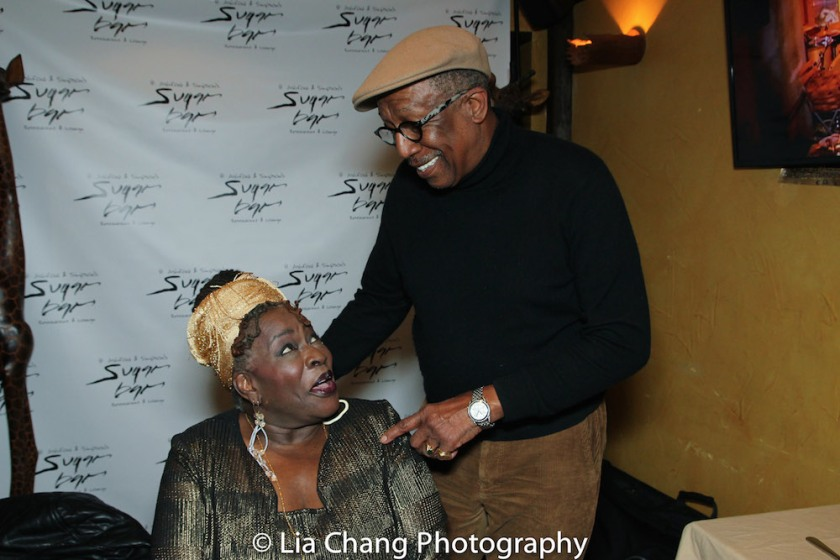 Ebony Jo-Ann and George Faison. Photo by Lia Chang