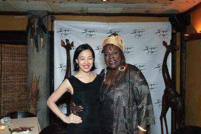 Lia Chang and Ebony Jo-Ann