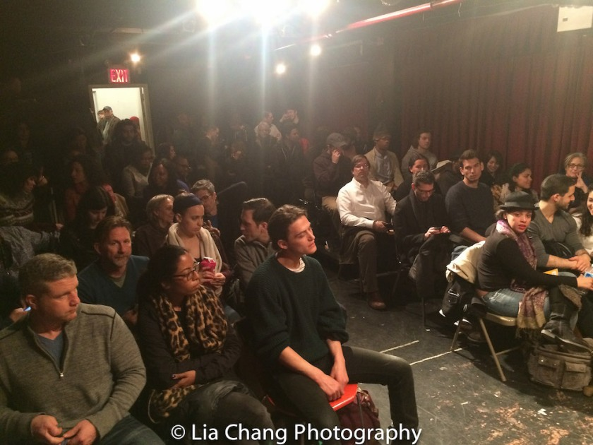 Standing room only at the Drama Book Shop in New York on April 5, 2016. Photo by Lia Chang