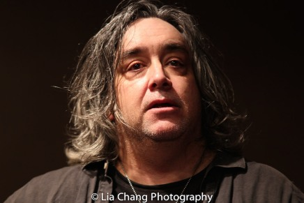 Stephen Adly Guirgis at the Drama Book Shop in New York on April 5, 2016. Photo by Lia Chang