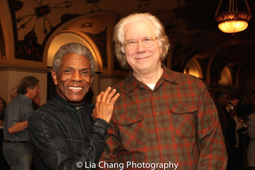 André De Shields and John Larroquette. Photo by Lia Chang