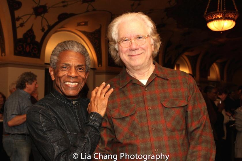 André De Shields and John Larroquette. Photo by Lia Chang