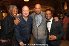 André De Shields, Kevin Ligon, Wayne Pretlow and John-Michael Lyles. Photo by Lia Chang